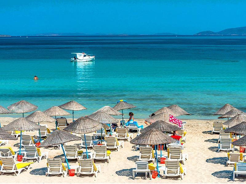 Ege'nin Mavi Bayraklı Plajları Sığacık Seferihisar Alaçatı Çeşme Ilıca Turu