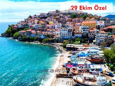 29 Ekim Selanik-Kavala-Porto Lagos & Vistonida Gölü