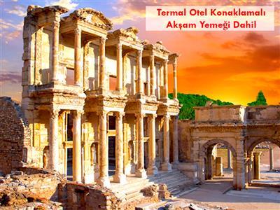 Salda Gölü, Pamukkale, Şirince, Efes Antik Kenti