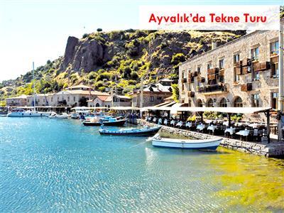 Yaz&Bayramlarda Ayvalık'da Tekne Turu imkanı ile Cunda Bozcaada Turu