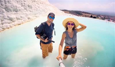 Çeşme Alaçatı Ilıca Salda Pamukkale Yüzme Turu