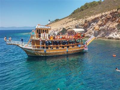 Ayvalık Tekne Gezili Bozcaada Yüzme Turu